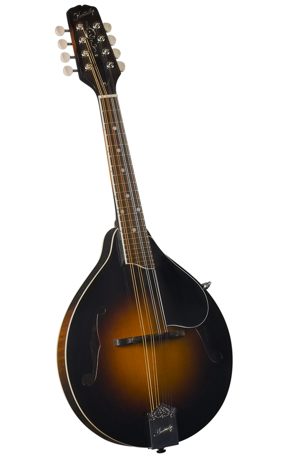 Kentucky KM-250 Artist A-model Mandolin - Traditional Sunburst (Hard Case Included) - Jakes Main Street Music