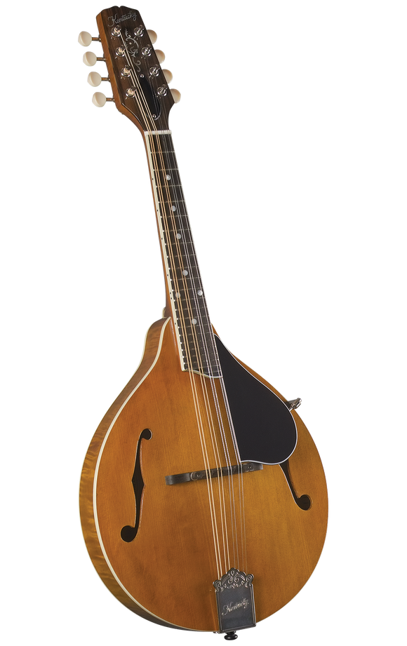 Kentucky KM-252 Artist F-model Mandolin - Transparent Amber - Jakes Main Street Music