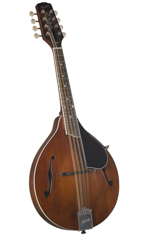 Kentucky KM-256 Artist F-model Mandolin - Transparent Brown - Jakes Main Street Music