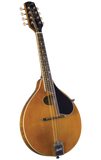 Kentucky KM-272 Artist Oval Hole A-Style Mandolin - Transparent Amber - Jakes Main Street Music