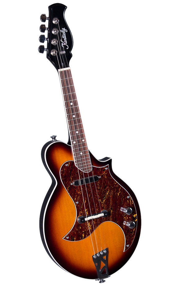 Kentucky KM-300E 4-String Electric Mandolin - Traditional Sunburst - Jakes Main Street Music