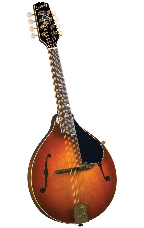 Kentucky KM-505 Artist A-model Mandolin - Amberburst - Jakes Main Street Music