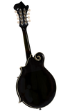 Kentucky KM-751 Deluxe F-Model Mandolin - Black - Jakes Main Street Music