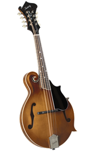 Kentucky KM-752 Deluxe F-Model Mandolin - Transparent Amber