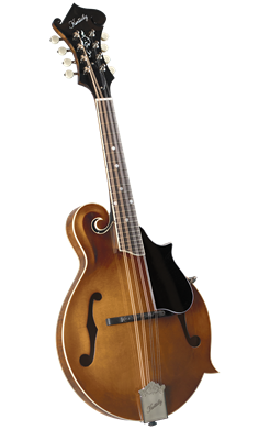Kentucky KM-752 Deluxe F-Model Mandolin - Transparent Amber - Jakes Main Street Music