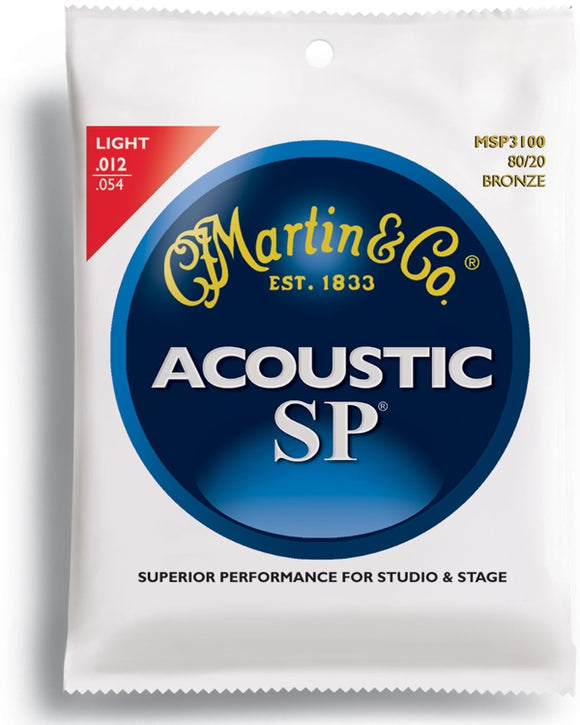 Martin SP 80/20 Bronze - Acoustic Guitar Strings - Jakes Main Street Music