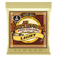 Load image into Gallery viewer, Ernie Ball Earthwood Acoustic Guitar Strings - Jakes Main Street Music