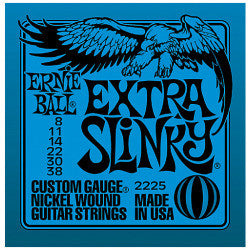 Ernie Ball 2225 Nickel Extra Slinky Electric Guitar Strings - Jakes Main Street Music
