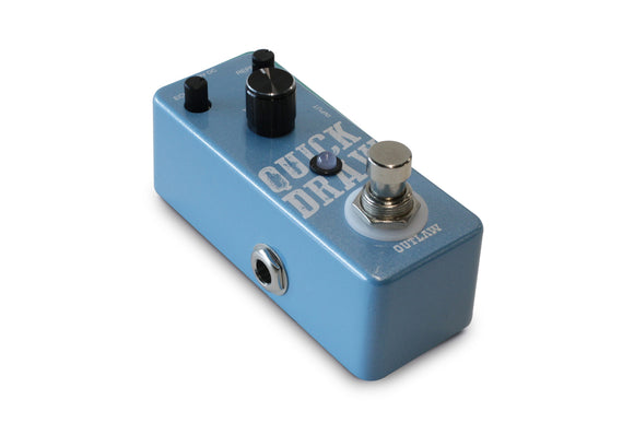 Outlaw Quick Draw Delay Pedal - Jakes Main Street Music