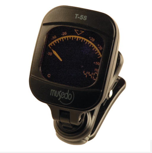 Musedo T-5SBK Clip-on Chromatic Tuner