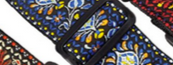 "Load image into Gallery viewer, Lock-it 2"" Jaguard Pattern Guitar Straps"