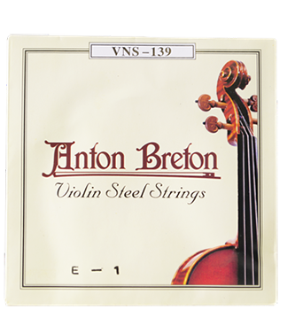 Anton Breton VNS-139 Series Steel Violin Strings - Jakes Main Street Music