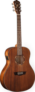 Washburn WL012SE Woodline Series Solid Mahogany Top Guitar.