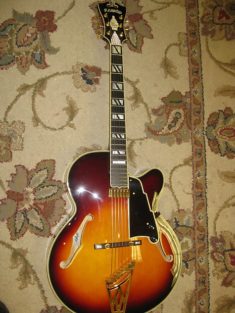 D'Angelico NYL-2 Arch-top Made by Vestax in Japan - Used/mint - Jakes Main Street Music