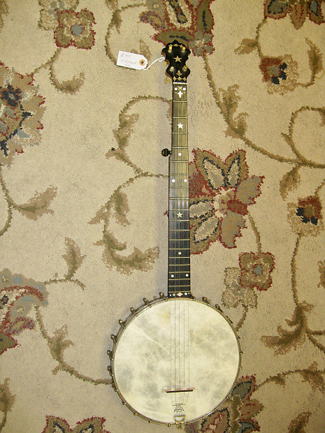 S. S. Stewart Banjo c. 1887-88 with Chipboard Case - Jakes Main Street Music