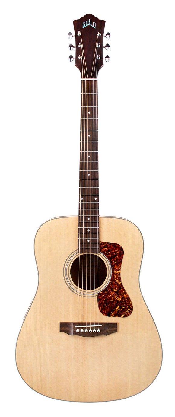 Guild D-240E Arch-Back Acoustic Guitar - Left Handed