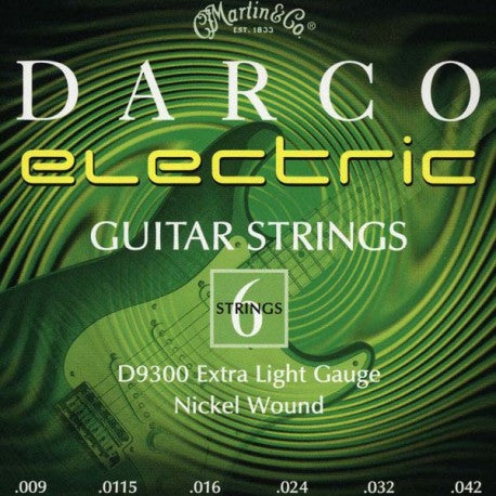 Darco D9300 Electric Guitar Strings - Extra Light - Jakes Main Street Music