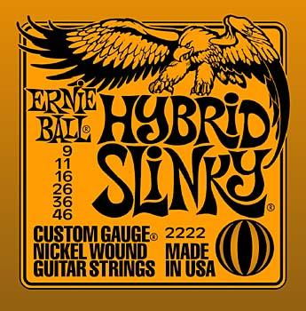 Ernie Ball 222 Hybrid Slinky Electric Guitar Strings - Jakes Main Street Music