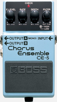 Boss CE-5 CHORUS ENSEMBLE - Jakes Main Street Music