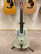 Load image into Gallery viewer, National Resophonic NRP Chipped Ivory 14 fret Resonator Guitar