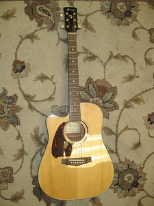 Used Lefty Ibanez PF5LECE-NT-14-01 Acoustic Guitar - Jakes Main Street Music
