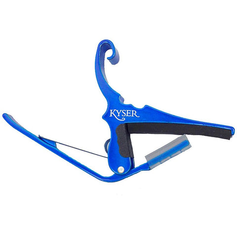 Kyser KG6UA Quick-Change Guitar Capo for 6 string Guitar - Blue