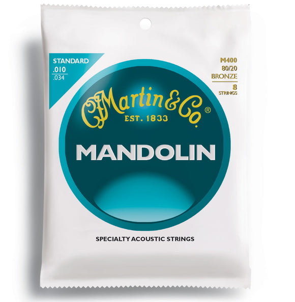 Martin Mandolin Strings - 80/20 Bronze - Jakes Main Street Music