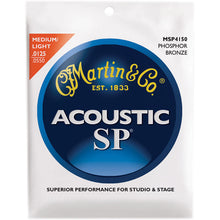 Load image into Gallery viewer, Martin MSP Phosphor Bronze Guitar Strings - Jakes Main Street Music