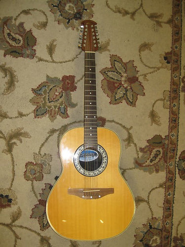 Used 1979 Ovation CC65 Celebrity 12-String Acoustic Guitar - Jakes Main Street Music