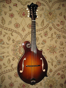 "Collings MF ""F"" Style Mandolin (No. F1953) in Vintage Sunburst - Jakes Main Street Music"