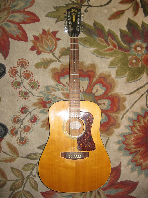 Guild D-25-12 Nat 1988 Natural - Jakes Main Street Music