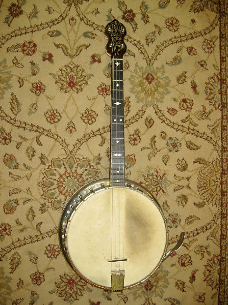 Bacon & Day Silver Bell Special No. 1 (1924) Tenor Banjo - Jakes Main Street Music