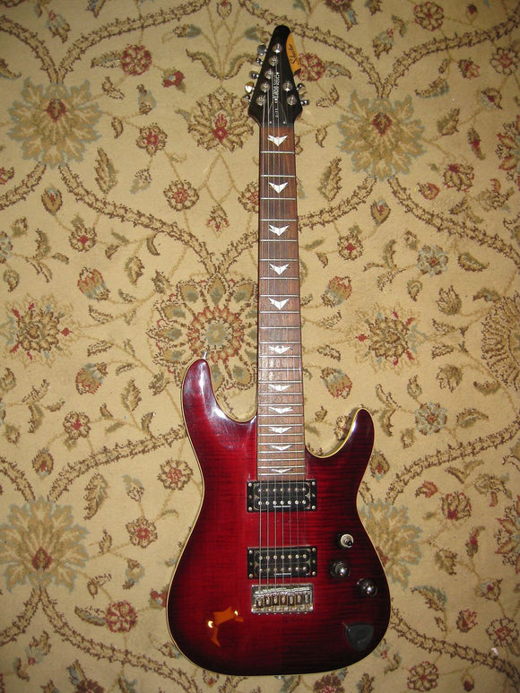 Schecter C-7+ 7-String Electric Guitar - Jakes Main Street Music