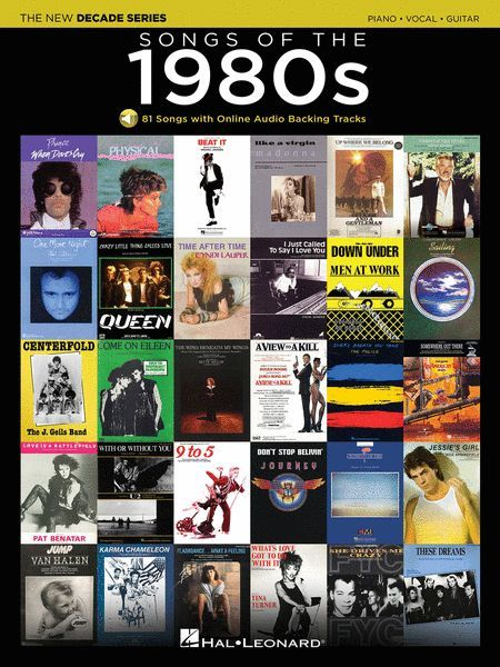 Songs Of The 1980s - Hal Leonard The New Decade Series