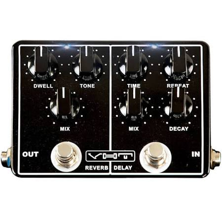 VHT Echo-Verb Reverb and Delay Pedal AV-EVI