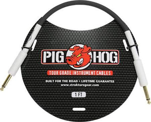 "Pig Hog PH1 1"" Tour Grade Instrument Patch Cable"