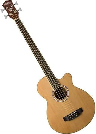 Washburn Acoustic/Electric Bass AB5K - Jakes Main Street Music