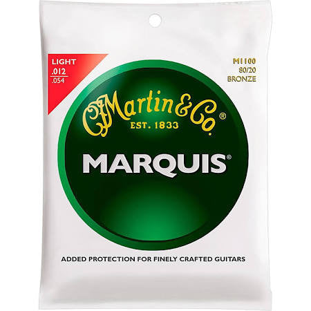 Martin M1100 Marquis 80/20 Acoustic Guitar Strings - Light - Jakes Main Street Music