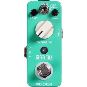 Moore Green Mile Overdrive Pedal - Jakes Main Street Music