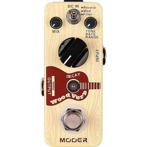 Mooer Woodverb Acoustic Guitar Reverb Pedal - Jakes Main Street Music