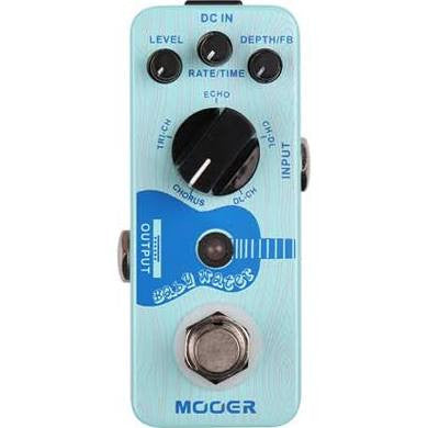 Moore Baby Water Acoustic Guitar Delay & Chorus Pedal - Jakes Main Street Music