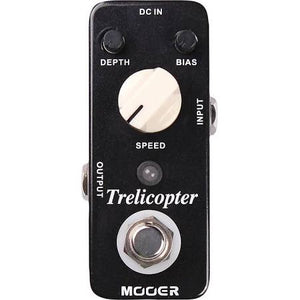 Mooer Trelicopter Optical Tremelo Effects Pedal - Jakes Main Street Music