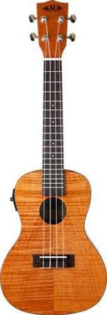 Kala CEME Concert Exotic Mahogany Ukulele with Pickup and Tuner - Jakes Main Street Music