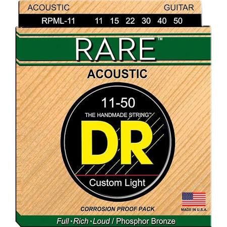 DR Strings RPML-11 Rare Acoustic Light 11-50 - Jakes Main Street Music