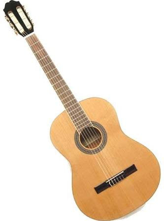 Antonio Hermosa AH-10 Solid-Top Classical Guitar - Jakes Main Street Music