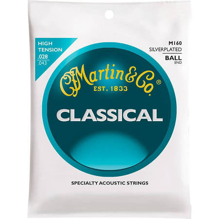 Martin M160 Ball End High Tension Nylon Guitar Strings - Jakes Main Street Music