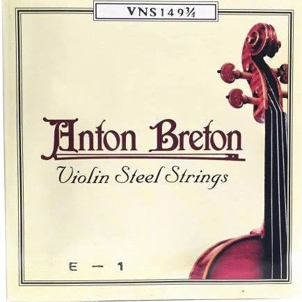 Anton Breton Steel Violin Strings VNS-149 - Jakes Main Street Music
