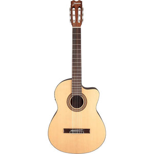 Jasmine JC-25 Acoustic/Electric Classical Cutaway Guitar - Jakes Main Street Music