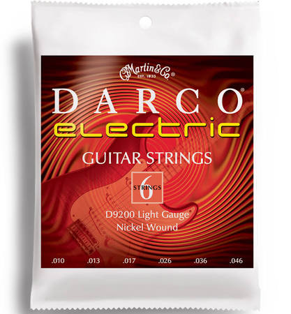 Darco D9200 Light Gauge Electric Guitar Strings 10-46 - Jakes Main Street Music