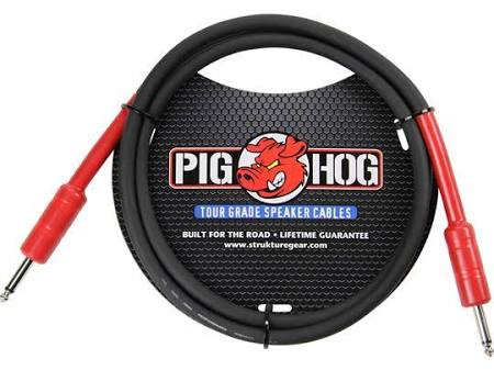 Pig Hog Tour Grade 5 Ft. Speaker Cable PHSC5 - Jakes Main Street Music